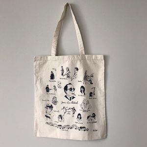 Handbags - Limited Edition Jean-Luc Godard Tote